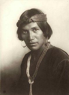 Pedro Begay. Navajo. Arizona. ca. 1900. Photo by Carl Moon. Source - NYPL.