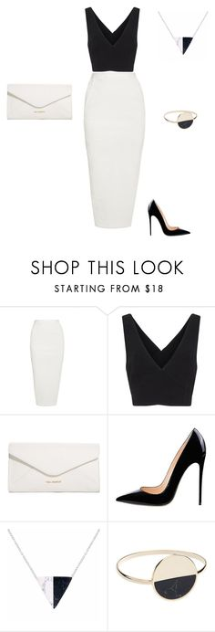 """""""Marble"""" by hrockholt ❤ liked on Polyvore featuring Rick Owens, Cinq à Sept, Vera Bradley, A Weathered Penny and Witchery"""