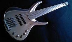 Christophe's special bass by RIM Custom Guitars