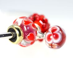 Have you tried the new Valentine Love Drop beads on your Trollbeads Bangle yet?  Full of motion and bling!  Check out our Valentine Listings! http://www.trollbeadsgallery.com/valentines-trollbeads/