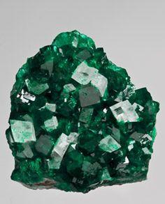 Dioptase Calcite Tsumeb