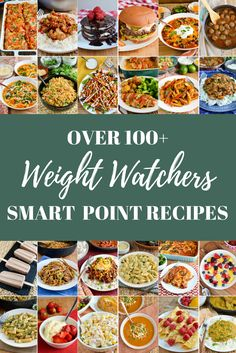 Weight Watchers Recipies