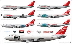 NWA Cargo - Airlinerart, Aviation Art Prints, Airliners, Airplanes, Aircraft, Boeing and Airbus Art