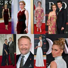 #GillianAnderson, #MattSmith (with #ClaireFoy),  #JaredHarris (with #AllegraRiggio) and #VanessaKirby at the premiere of Netflix show #TheCrown last night in London! #TheCrown premiere on Netflix this Friday (4)! • • • • • • • • • • • • • • • • • • • • • • • • • #GillianAnderson, #MattSmith (com #ClaireFoy), #JaredHarris (com #AllegraRiggio) e #VanessaKirby na premiere da série do Netflix, #TheCrown ontem à noite em Londres! #TheCrown estréia no Netflix nesta sexta-feira (4)!