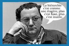 <3 Éternel Coluche <3 #Citation #Humour #HistoireDrole #rire #ImageDrole…