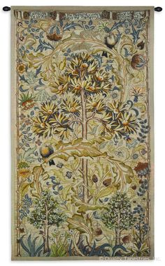 Summer Quince II Wall Tapestry