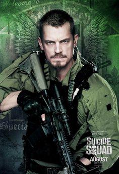 Legion samobójców / Suicide Squad (2016) #JoelKinnaman