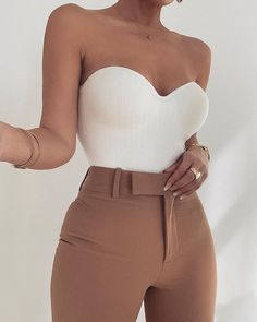 For all of our Signature Monroe Lovers // We have just released a Ribbed version called the DEMI BODYSUIT {featuring removable straps} Teen Fashion Outfits, Look Fashion, Girl Fashion, Girl Outfits, Night Outfits, Korean Fashion, Fashion Beauty, Fashion Fashion, Fashion Tips