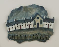 'Rhes y Capel' 'Chapel Terrace' Clay Richard