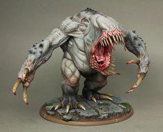 Bloodmaw - mierce miniatures colour scheme for dungeon saga