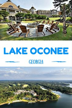 One of the best luxury resorts in the country, the impressive Ritz Carlton Lake Oconee at Reynold's Plantation, Georgia.