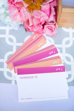 colorful guestbook ideas // photo by CandiceBenjamin.com