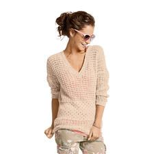 Modell 280/4, Oversized-Pullover aus Contrato von Junghans-Wolle