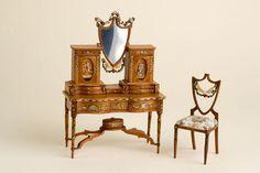 Dressing table and chair by IGMA artisan Cristina Noriega via Good Sam Showcase