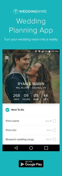 Install the best app to make wedding planning easy!