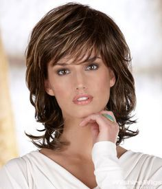 Image result for medium length layered hairstyles for women over 50
