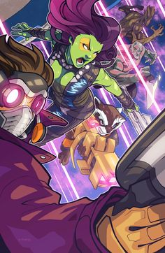 """Guardians of the Galaxy"" by edwinhuang.deviantart.com on #deviantART"