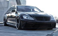 Prior Design Black Edition V2 Widebody Mercedes-Benz S-Serisi W221