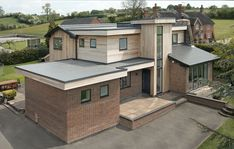 """Homeowner specified the Sarnafil """"first rate roof covering system"""""""