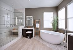 Contemporary Neutral Bathroom