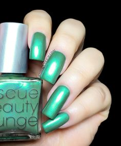 R29   Rescue Beauty Lounge collection swatches and review by Fashion Polish This color is so unique!!!!