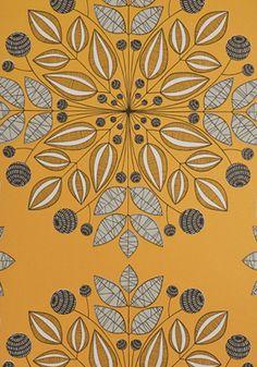 <3 Kaleidoscope Pumpkin Wallpaper - Miss Print