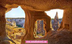 Exploring the beauty of Cappadocia  Turkey - www.onenationtravel.com/package-category/cappadocia-tours/  #onenationtravel #turkey #cappadocia #travel #travelblogger #travelblog #explore #travelphotography #travelling #traveller #traveltheworld