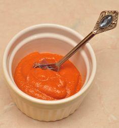 Ingrediente 2 portii: 2 buc ardei capia copti si curatati (eu am folosit ardei copti din congelator) 100ml pasta de rosii (sau rosii uscate- in ulei daca aveti) 4-5 catei de usturoi 10 frunze de busuioc (am folosit busuioc rosu) 20g parmezan (pt copii sub 1 an omiteti) 1 lg seminte de pin (nu … Pasta, Cantaloupe, Fruit, Recipes, Garden, Food, Salads, Garten, Recipies