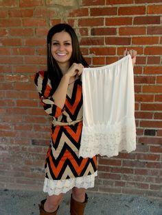 Lace Skirt Extender