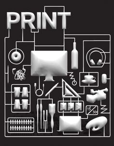 A PRINT magazine cover design by New Visual Artist Audrey Jungwon Choe Magazine Cover Design, Print Magazine, Frank Chimero, Debbie Millman, Logo Design Competition, Paula Scher, Call For Entry, School Of Visual Arts, Young Designers