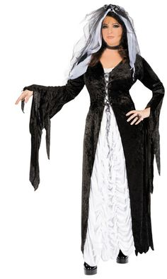 Women's Bride Of Darkness Costume