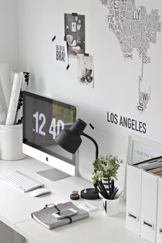 If I had a desk, it could look like this