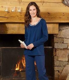 Pyjama Douce Nuit #livraison #commande #hiver #winter #atlasforwomen #atlasformen