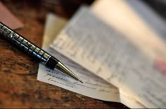 Pen and paper--from Ann Voskamp