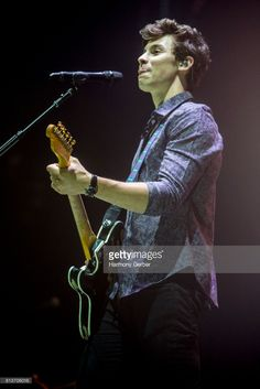 Shawn Mendes performs at Staples Center on July 12, 2017 in Los Angeles, California.