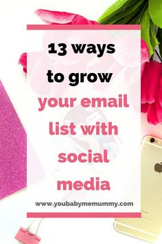 Are you struggling to grow your email list? You need these 13 ways to grow your email list with social media Are you struggling to grow your email list? You need these 13 ways to grow your email list with social media Email Marketing Strategy, Social Media Marketing, Online Marketing, Digital Marketing, Content Marketing, Email Campaign, Email Design, Email List, Make Money Blogging