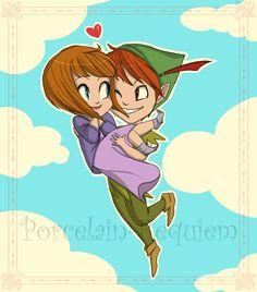 Peter Pan and Jane - peter-pan-and-jane Fan Art
