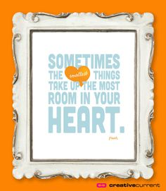 Winnie the Pooh Quote Printable Kids Bedroom by CreativeCurrentNZ