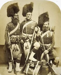 Crimean Veterans by Robert Howlett