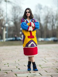 Le look tricot