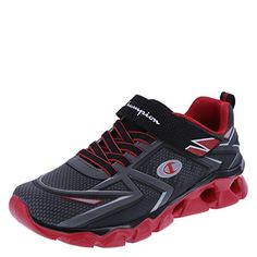 22507a760 Champion Red Boys  Glide Runner - From Shoes to Sandals