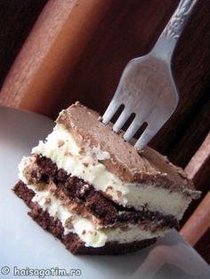 Sweet Recipes, Cake Recipes, Dessert Recipes, Romanian Desserts, Sweet Tarts, Dessert Drinks, Chocolate Cake, Cheesecakes, Food And Drink