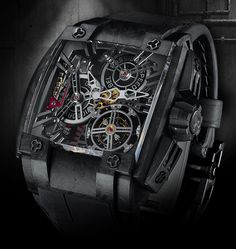 captions-540-magnum-tourbillon Where Rebellion Racing excels in endurance car racing, Rebellion Timepieces excels in endurance watchmaking. The 540 Magnum's engine – the proprietary REB T-14 movement – has a competition-honed 14-day power reserve.