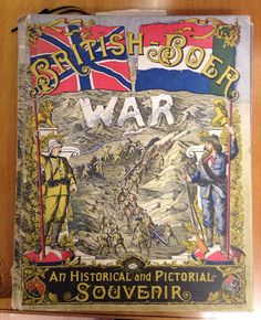 RARE British Boer War Historical and Pictorial