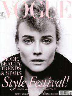 Diane Kruger - German Vogue cover. I Die.