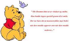 Litt Ole Brumm visdom fra A A Milne