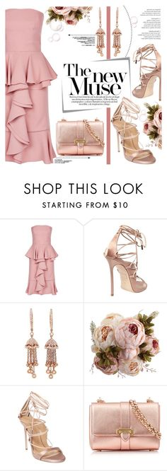"""The New Muse"" by yurisnazalieth ❤ liked on Polyvore featuring Alexander McQueen, Dsquared2, Shay and Aspinal of London"