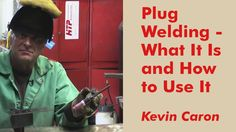 How to Plug Weld - and Why You'd Want To - Artist Kevin Caron explains how plug welding hides the weld for a clean look and almost no grinding!