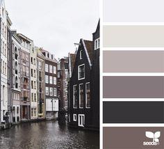 dwell tones, by design seeds Design Seeds, Colour Pallette, Colour Schemes, Color Patterns, Neutral Palette, Color Combinations, Color Concept, Color Balance, Balance Design