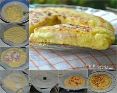 gr 2016 03 pitsa-me-zumi-patatas-zampon-tyri-sto-tigani. Pizza Recipes, Cake Recipes, Cooking Recipes, Pizza Tarts, Beach Meals, Baked Ham, Happy Foods, Empanadas, Light Recipes